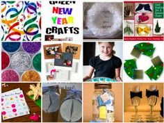 Last Minute New Year Ideas That Are Blast!  Fab and Fun Collection ideas or any New Year Party with Friends, Family or Kids. Activities, tablesetting, crafts, clever!