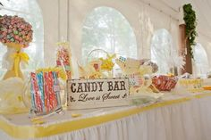 nostalgic table decor   Memory table, nostalgic candy and place setting tags for a vintage ...