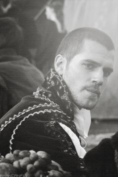 """ Henry Cavill; The Tudors ""Show me some respect."" [103] Here ya go, Anon :) Enjoy your Sunday, everyone! -A """