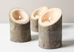 Tree Branch Candle Holders Set of 3 Short Angled- Rustic Wood Candle Holders, Tree Slice, Wooden Candle Holders, Wedding Centerpiece ideas in usa tree houses Cet article n'est pas disponible Rustic Candles, Rustic Candle Holders, Candle Holders Wedding, Candle Holder Set, Diy Candles, Rustic Wood, Rustic Table, Diy Table, Tree Bark Crafts