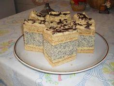 Mákos francia krémes Poppy Cake, Vanilla Cake, Tiramisu, Biscuits, Cooking, Ethnic Recipes, Vaj, Food, Cakes