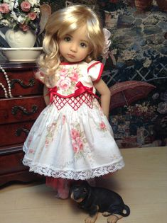 My name is Marla, and I have been a Doll Enthusiast for most of my life. I have been a Professional Seamstress For 30 Years! I love collecting and displaying my dolls. I also love to sew Adorable Outfits for dolls, Mine and Yours. My dolls are happy with what they are wearing , so