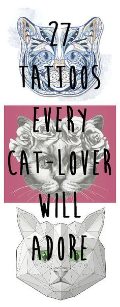 27 Classy Cat Tattoos Every Cat-Lover Will Adore