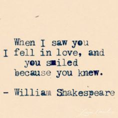 Love quote by William Shakespeare | Lovecats