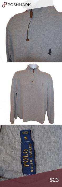 Ralph Lauren Half Zip Sweater! Size: Medium | 10/10 Conditions - 2 Orders In a Bundle = 15% Off! Polo by Ralph Lauren Sweaters Zip Up