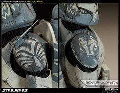 Sideshow Collectibles presents the Clone Commander Wolffe Sixth Scale Figure. Inspired by his appearances in Star Wars - The Clone Wars, the. Captain America Suit, Star Wars Models, Star Wars Tattoo, Star Wars Pictures, Star Wars Clone Wars, Star Trek, Star Wars Baby, Star Wars Gifts, Clone Trooper