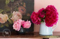 Lotta liebt Blau: Freitagsblumen und die Sache mit dem Farn...