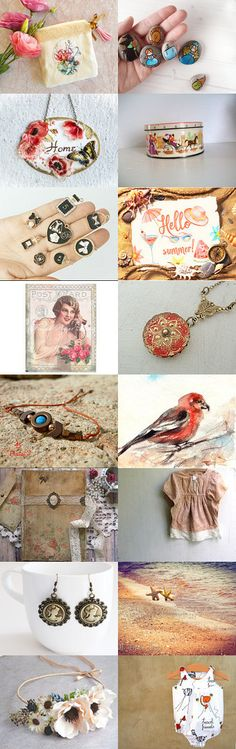 Summer hot gifts  by Elena Doniy on Etsy--Pinned+with+TreasuryPin.com #etsy #etsysummer #summer #peach #summergifts #believe #babygifts #shabbychic #rustic