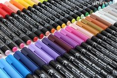 SAKURA-Koi: Coloring Brush Pens. These markers are perfect for ...