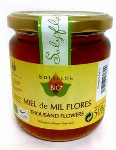 #Miel ecológica mil flores BIO. De gran pureza y calidad. Recolectada en el Parque Natural de Sierra Nevada. En envase de 500 grs. Sólo en www.laozaiberica.com