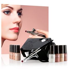 tips for using an airbrush system  airbrush makeup system
