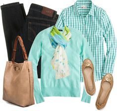 """""""Tiffany blue and nude"""" by luv2shopmom ❤ liked on Polyvore"""