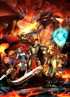 Street Fighter Dungeons and Dragons