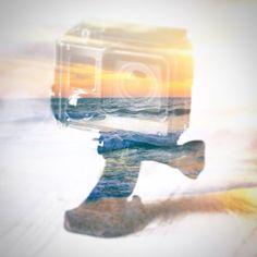 Creating while waiting for photos to upload #hero #doubleexposure @gopro #goprogirl #goprohero #beach #camera #photography #smile #needmoreram #uploading #photoshop #adobe #summer #sunset #goprooftheday #goprophotography #goprophoto #goproeverything