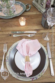 Decoração de mesa inspirada no campo - Por Patrícia Junqueira www.patriciajunqueira.com.br