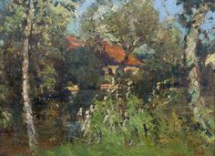 LUDVÍK KUBA House in garden Dům v zahradě, 1940