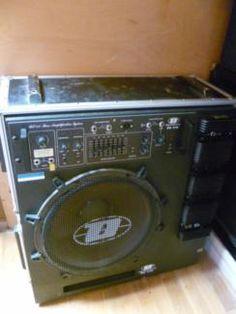 Dynachord BS 412 Bass Amp + Made in Germany + Case + Electrovoice in Baden-Württemberg - Müllheim | Musikinstrumente und Zubehör gebraucht kaufen | eBay Kleinanzeigen
