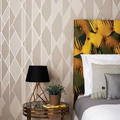 Cole & Son Geometric II collection Deco Palm 105/8038/ | WALLCOVERY ...