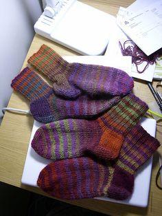 Puro socks by Swanns, via Flickr