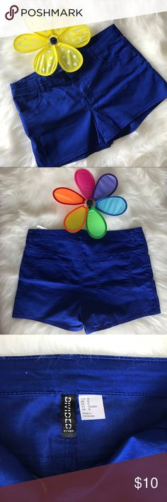 H&M Blue Short Blue short 12 inches long Divided by H&M NWT H&M Shorts Jean Shorts