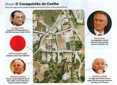 No Algarve, Cavaco Silva tem por vizinhos Oliveira Costa e Fernando Fantasia, homens-fortes do BPN. VEJA O VÍDEO e leia o ARTIGO publicado na VISÃO da última semana