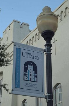 The Citadel Charleston SC,  loved visiting my brother and watching him play football.