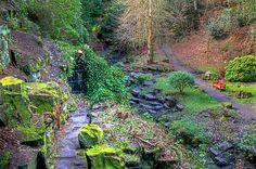 """Pittencrieff Park, """"The Glen"""", Dunfermline, Fife"""