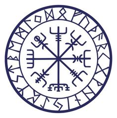 The Vegvisir - The Magical Runic Compass of the Vikings