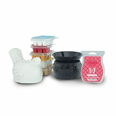 Perfect Scentsy - $25 Warmers     6 Scentsy Bars of your choice, plus 2 Element Scentsy Warmers ($12 savings)