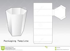 Packaging Template Royalty Free Stock Photos - Image: 20009898