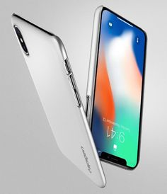 Spigen Thin Fit iPhone X Case with SF Coated Non Slip Matte Surface - HolyCool.net