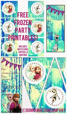 Mommy's Idea Notebook: Frozen Party Printable FREEBIE!