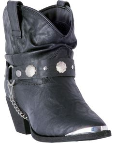 Dingo Women's Buck The Rules Fashion Booties - Snip Toe | Boot Barn Brown Leather Ankle Boots, Studded Leather, Black Leather, Brown Booties, Leather Sandals, Dan Post Boots, Cowgirl Boots, Western Boots