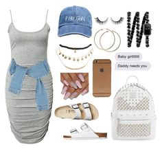 """""""Daddy lives far away.."""" by lose-myself ❤ liked on Polyvore featuring Birkenstock, Notion 1.3, MCM, Wet Seal, Chanel and Rimini"""