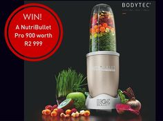 Win a NutriBullet worth Nutribullet Pro, Fitness