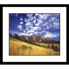 Great American Picture Boulder Mountains, Colorado Framed Photograph - Robert Franz - IS628509