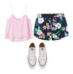 """""""My Style"""" by madisonduncan11 on Polyvore featuring New Look, MANGO and Converse"""