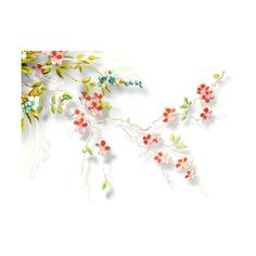 ldavi-heartwindow-cornerbranchflowers1.png ❤ liked on Polyvore featuring flowers, backgrounds, fillers, effects, floral, borders, picture frame, detail and embellishment