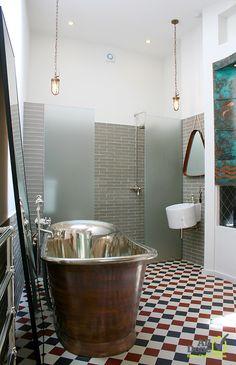Two storeys family house refurbishment in Millfield House Design, Wet Room Bathroom, Bath Pictures, Family House, Beautiful Bathroom Designs, Beautiful Home Designs, Refurbishing, Bathroom Design, Beautiful Bathrooms