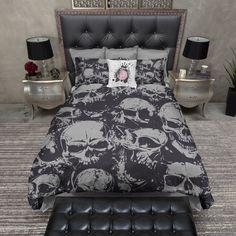 Grunge Skull Duvet Bedding Sets