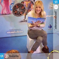 #Repost from @_progressivepr_ with @repost app --- Στο @Playmobil_FunPark_athensη @FSkorda διαβάζει το παραμύθι του προγράμματοςPlay& Give στους λιλιπούτειους φίλους μας! #progressive #playmobil #funpark #playmobilhellas #oramaelpidas #fun #fairytale #magic #love #play #give #Repost from @fskorda — Διαβάζοντας το παραμύθι της #playmobil στους μικρούς μου φίλους