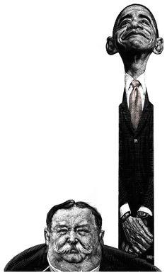 Remarkable Illustrations by Ricardo Martinez