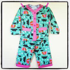 Sleepover Pajamas: rainy night pajamas by hollymcbride, via Flickr