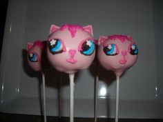 Littlest Pet Shop Theme Crafted by: ~Cake Pops By AJ~