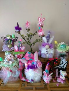 Easter Bunny Gnomes by TheGOODFAIRYkingdom on Etsy