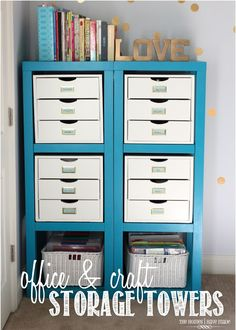 Super Ideas For Home Organization Diy Office Organisation Home Office Organization, Office Storage, Organization Ideas, Organized Office, Storage Ideas, Organizing Solutions, Storage Cubes, Drawer Storage, Storage Hacks