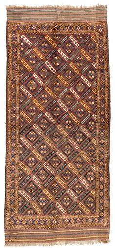 Ersari Beshir 405 x 229 cm (13ft. 3in. x 7ft. 6in.) Turkmenistan ca. 1870