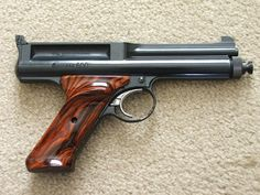 Crosman 600 with a set of cocobolo grips VGC !
