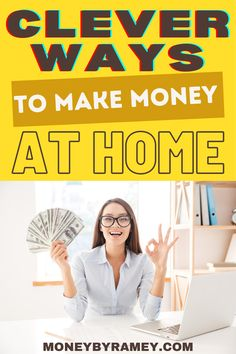 Given the current state of the world, many folks at home have been scrambling to find alternative sources of income. Fortunately, the rapid development of technology – particularly in terms of online tools – has made this task easier than ever before. #ideas #makemoney #finance #personalfinance #moneymanagement #financialplanning #financialfreedom #financialindependence #tips #howto #savings #budgeting #investing #financial Money Tips, Money Saving Tips, Managing Money, Make Money From Home, Way To Make Money, Make Money Online, Financial Goals, Financial Planning, Living On A Budget