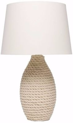 Love this Harbor Table Lamp by Pottery Barn. Perfect for the Coastal Theme Coastal Bedrooms, Coastal Living Rooms, Coastal Cottage, Coastal Homes, Coastal Style, Coastal Decor, Coastal Furniture, Coastal Bedding, Modern Coastal